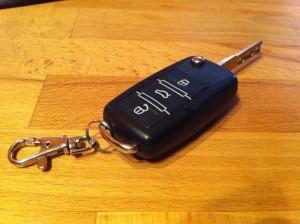 VW Klappschlüssel vorn