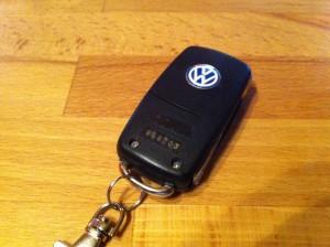 VW Klappschlüssel hinten
